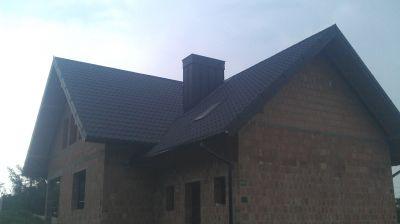 Domek jednorodzinny kompleksowe pokrycie dachówką ceramiczną  rok. 2010 Kraków