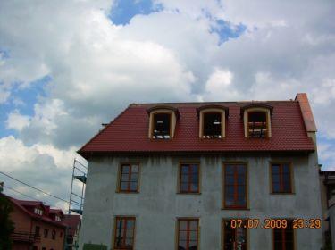 Krycie dachu miedzią