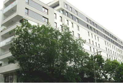 Kompleksowe wykonanie elewacji  bloku mieszkalnego warszawa  ul. Rydygiera  2011
